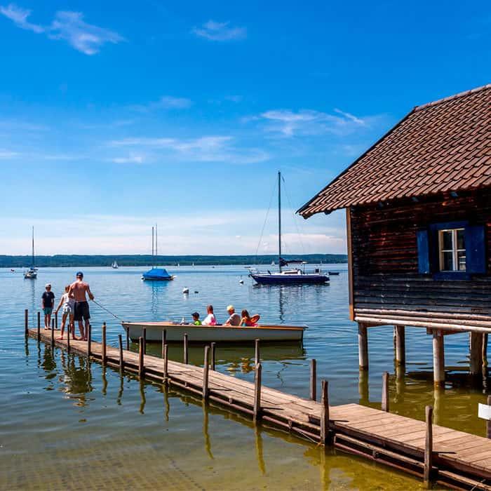 Bootshaus Herrsching am Ammersee