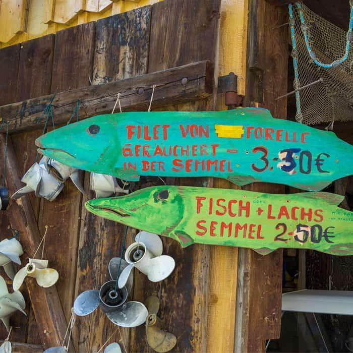 Frischer Fisch am Ammersee